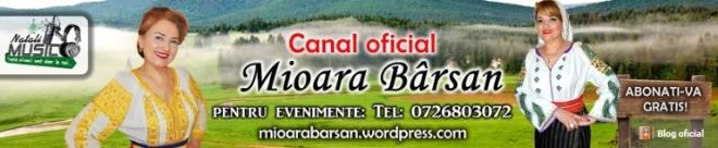 Canal oficial Youtube Mioara Barsan - Videoclipuri - emisiuni tv - reportaje evenimente LIVE