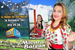 Mioara Barsan - Afis emisiune INEDIT TV 2015