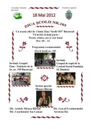 Mioara Barsan - Recital ziua scolii 2012