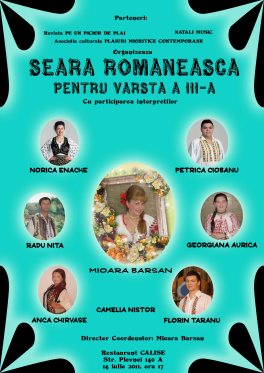 Mioara Barsan Seara romaneasca pentru varsta a III-A 2011