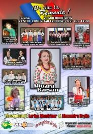 Mioara Barsan - Spectacol JCC - De ziua ta Romania 2015