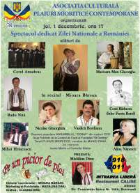 Mioara Barsan - Spectacol ziua Romaniei 2011