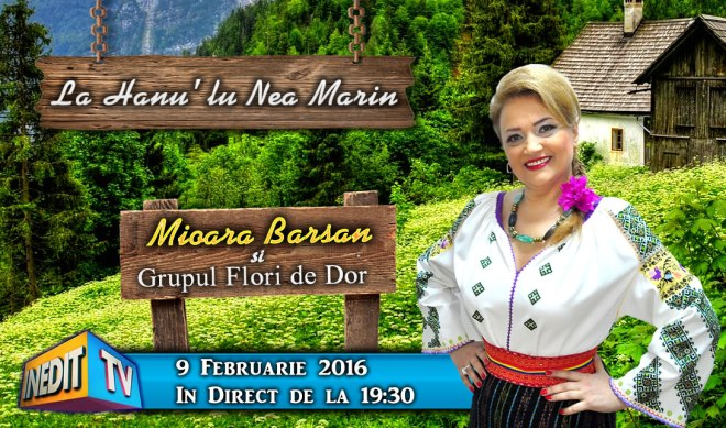 Mioara Barsan la emisiunea lui Nea Marin - INEDIT TV 2016