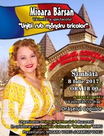 Mioara Barsan Spectacol 2017 - Oraselul copiilor - Sub mandru tricol